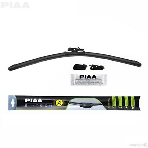 PIAA 97050 Si-Tech Silicone Flat Windshield Wiper Blade