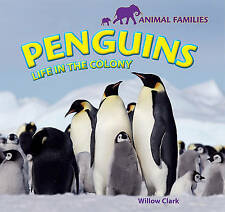 USED (VG) Penguins: Life in the Colony (Animal Families) by Willow Clark