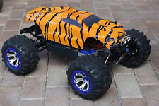 Custom Body Tiger Style for Traxxas 1/10 Summit Shell Cover 1:10 Scale