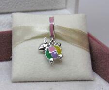 New w/Box Pandora Rabbit Lantern Enamel Charm 797603ENMX NO US RELEASE Easter