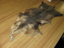 Damaged # 2 Opossum Hide Fur Coats Trapping Fur