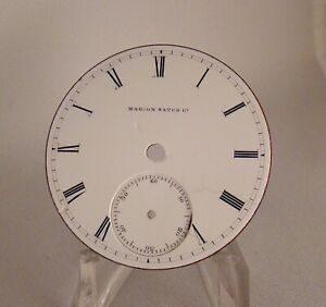 DIAL MARION WATCH CO. EITHER SIZE 18s POCKET WATCH