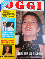 OGGI 17/1983 CAROLINE FARSETTI GIOCONDA PARIGINI VARTAN BETTEGA MERCADER ROVERE