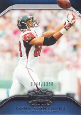 2010 Topps Triple Threads Football #86 Tony Gonzalez /1350 Atlanta Falcons