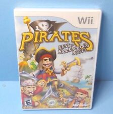 Pirates: Hunt for Blackbeard's Booty Wii BRAND NEW FACTORY SEALED