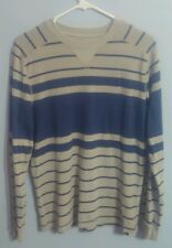 Quicksilver Men's Gray/Blue Stopped Sweater!! Size Small!!