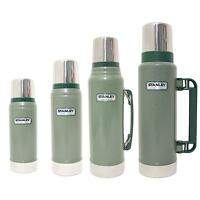 Stanley Classic Thermos Flasks - 0.47L, 0.75L, 1.0L, 1.3L OR 1.9L -Green or Navy