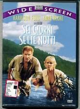 Sei Giorni Sette Notti - 1a Ed WARNER/Disney WIDESCREEN - DVD - Harrison Ford