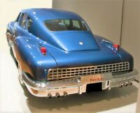 1947 1 Tucker Concept Car 24 Classic 12 Vintage 43 Carousel Blue Metal Model 18