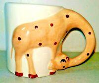 Giraffe Animal Ceramic Coffee Tee Mug Cup 3d Hand Painted