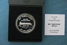Medaille - Harlingen -Taufe der Containerschiffes `` MV EMOTION `` 2008