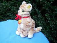 VINTAGE STEIFF CATTIE CAT . EAN 2770/23