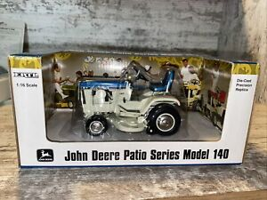 1/16th Scale John Deere 140 Patio Series Spruce Blue Mower Deck Ertl