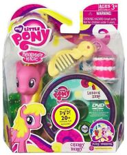 Friendship is Magic Pony Wedding Cherry Berry & Lesson Zero DVD Figure Set