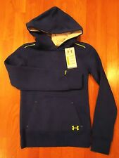 Under Armour Storm Hoodie Loose Fit Girls Youth Small Medium Large XL Blue XLarge