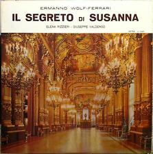 Angelo Questa - Ermanno Wolf Ferrari Il Segreto Di Susanna Lp Mint- Cetra N 1249
