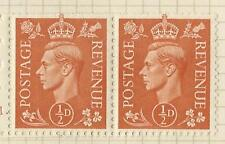 GB KGV1 BOOKLET PANE OF TWO BD5  MINT