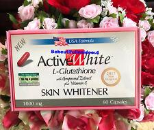 1 Active White L-Glutathione Whitener Pills w/ Grapeseed Skin Whitening Capsule