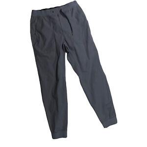 Lululemon ABC Jogger Warpstreme Pants Size Medium Gray Flaw M2Y