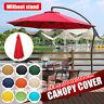 Bespannung Ersatz Schirm Bezug Sonnenschirmbezug Für Garten 3x3M Sonnenschirm