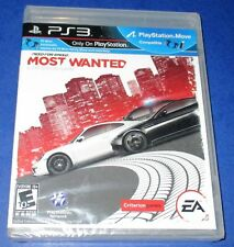 Need for Speed: Most Wanted - PS3 - *Black Label!  *Factory Sealed!  *Free Ship!