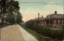 Sailors Snug Harbor Staten Island NY Five Cottages c1910 Postcard