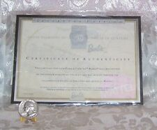 MATTEL 70'S PEACE AND LOVE BARBIE DOLL CERTIFICATE OF AUTHENTICITY COA ONLY