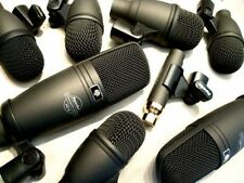 Superlux DRK-F5H3 8 piece drum microphone set + 8 x 6 mètre xlr conduit