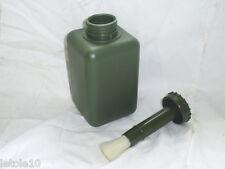 24x  1 Liter Pinselflasche Oliv Pinsel Flasche