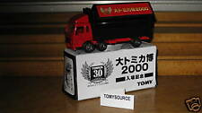 TOMY TOMICA 19-D-6 MIT.FUSO WING-ROOF TRUCK RED 30 ANNI