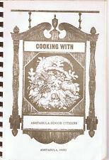 Cooking with Ashtabula Senior Citizens-Cookbook-1984-Free Shipping!!