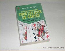 Le Guide Marabout de tous les JEUX de CARTES - ORIGINES - REGLES - VARIANTES