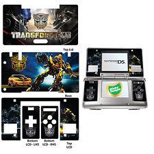 Transformers Vinyl Skin Sticker for Nintendo DS Original