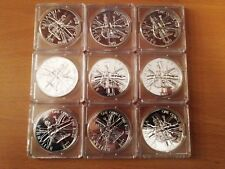 2011 Great Britain 1 oz Silver Britannia BU lot of 9 coins