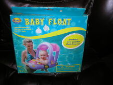 Baby Float with overhead protection ages 12-24 mos NEW