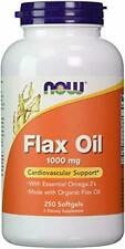 Now Supplements, Flax Oil 1000 mg Made with Organic Flax Oil, 250 Softgels