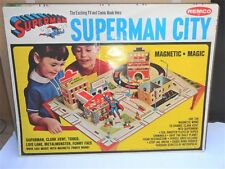 1966 SUPERMAN CITY PLAYSET REMCO PARTS LOT RARE