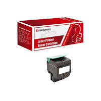 1 x 80C1SK0 Black Remanufactured Made in USA Toner For Lexmark CX310dn CX310n
