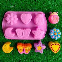 3D Shape Baking Mould Chocolate Animal Mousse Decoration Silicone Cute Mold LI