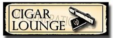 CIGAR LOUNGE METAL SIGN, CLASSY, SMOKING AREA,CUBA CIGAR,SMOKE,ASHTRAY