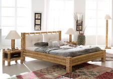 Bambusbett 180x200 Bett Bambus mit Kissen exotisch Holzbett Doppelbett NEU-Ware
