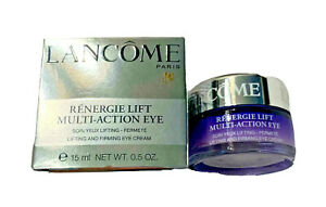 LANCOME Renergie Lift Multi-Action Eye Lifting and Firming Cream Full Size 0.5oz