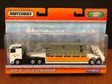 Matchbox DAF XF 105 & Generator Dela2446