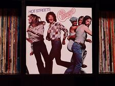 Chicago ♫ Hot Streets ♫ Rare 1978 Columbia Records Original First Press Vinyl LP