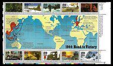 USA. World War II. 1944 Road to Victory. 1994. Scott 2838. MNH (BI#24)