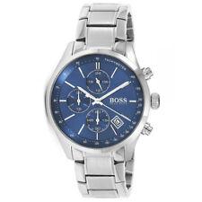 8c958fa62 Hugo Boss 1513478 Grand Prix Chronograph Stainless Steel Blue Dial Men's  Watch