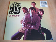 THE SPENCER DAVIS GROUP Title: Live In Finland '67 white vinyl lp ltd numbered