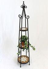 Blumenregal Merano 12009 Mosaik 137cm Blumentreppe Blumenständer Blumensäule Regal