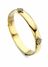 Fiorelli Bisutería Antiguo en tono dorado con cristal de Swarovski brazalete B4605