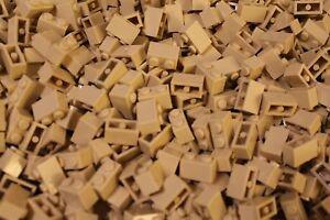 500 x LEGO® Brick / Stein / Steine 1x2 ( 3004 ) in Tan / Sand / Beige NEU